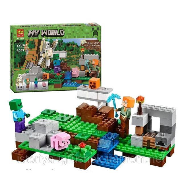 Конструктор Bela 10468 Железный голем (аналог Lego Майнкрафт, Minecraf