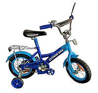 Велосипед 2-х колес 14'' Экстрим байк   171435  со звонком, зеркалом***
