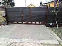 Откатные ворота 4600*2000
