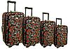 Чемодан дорожный 4 ШТУКИ Огромный набор колор 10