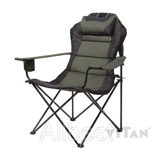 Кресло раскладное «Мастер карп» зеленый для отдыха