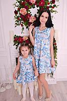 Платья для мамы и дочки В20276