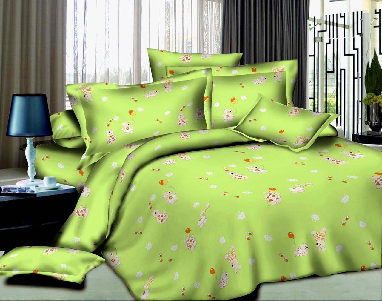 Детский комплект в кроватку Мишки и Пчелки