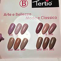 Гель-лак Tertio Новая коллекция Бежевая 10 мл (выбирайте № цвета)