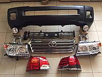 Комплект рестайлинга Toyota Land Cruiser 200 с 2007 года в 2012, фото 1