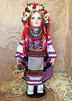 Кукла в украинском национальном костюме, кукла-украинка (70 см.)