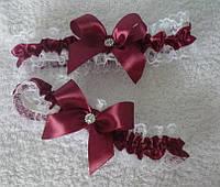 Свадебные подвязки для невесты, в любом цвете