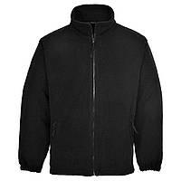 Куртка флисовая F205 S, черный