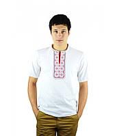 Стильные мужские футболки. Мужские вишиванки. Вышитые мужские рубашки. Праздничные футболки.