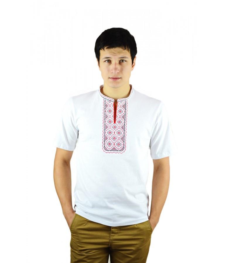 Стильные мужские футболки. Мужские вишиванки. Вышитые мужские рубашки.  Праздничные футболки. c50308ba479e1