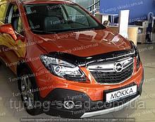 Дефлектор Опель Мокко (мухобійка на капот Opel Mokka)