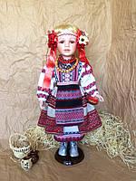 Кукла в украинском национальном костюме, кукла-украинка (60 см.)
