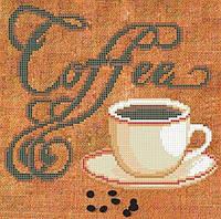 """СКМ-124. Схема для вишивки бісером """"COFFE""""."""