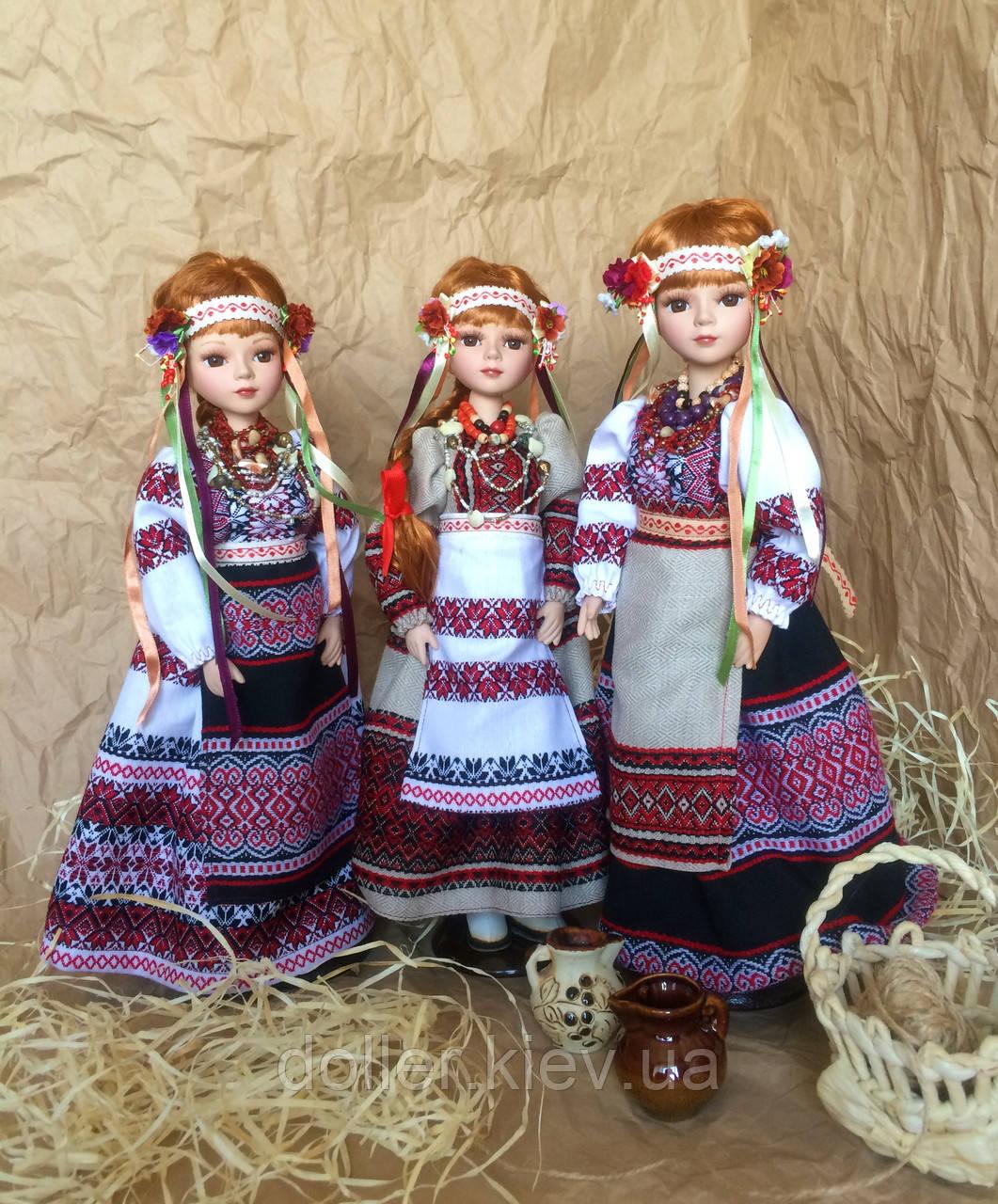 Лялька в українському національному костюмі, лялька-українка (40 див.)