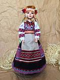 Лялька в українському національному костюмі, лялька-українка (40 див.), фото 4