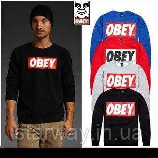 Свитшот | Obey logo | Кофта