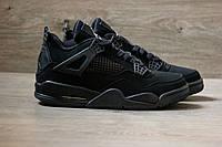 "Мужские кроссовки Nike Air Jordan ""Triple Black"". Живое фото. Топ качество (аир джордан, эир джордан)"