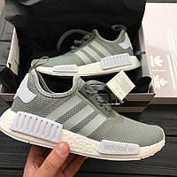 Кросівки Adidas NMD Runner PK Solid Grey. Живе фото! Топ якість! (Репліка ААА+), фото 1