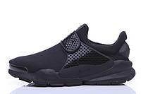 Кроссовки Nike Sock Dart All Black. Живое фото. Топ качество(Реплика ААА+)