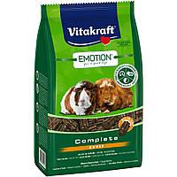 Vitakraft Emotion Complete Adult основной корм гранулированный для взрослых морских свинок, 800г
