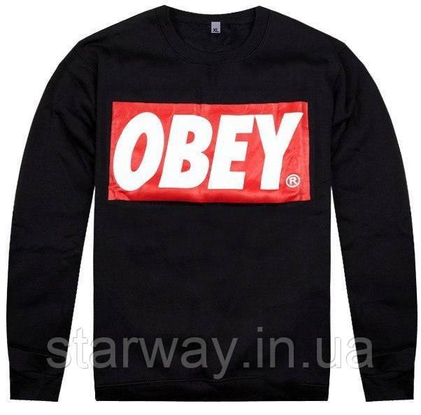 Свитшот Obey logo one | Кофта