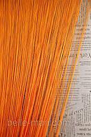 Однотонные шторы-нити №03 оранжевый 3*2.8