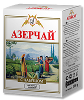 """Чай """"Азерчай"""" черный  с чебрецом"""