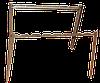 Портативный мангал походный подставка под 8 шампуров
