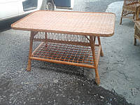 Стол из лозы прямоугольный-большой , фото 1
