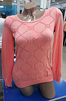 Легкая женская кофта персикового цвета Турция