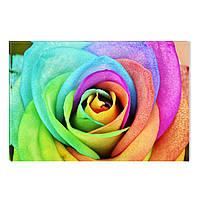 Светящиеся Картины Startonight Цветная Роза Природа Пейзаж Печать на Холсте Декор стен Дизайн Интерьер Цветы