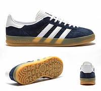 Кроссовки Adidas gazelle indoor dark blue