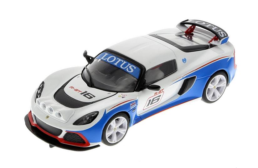 Металлическая модель kinsmart Lotus Exige R-GT