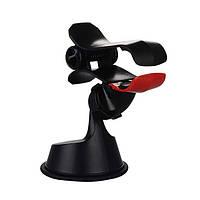 Автодержатель (прищепка) Baseus Smart Car Mount Black / Red