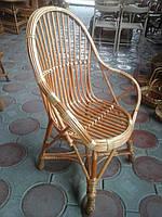 """Кресло из лозы """"Отдыхающее"""""""