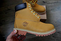 Зимние ботинки Timberland Classic 6 inch с мехом, теплые (Реплика ААА+), фото 1