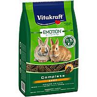 Vitakraft Emotion Complete Adult основной корм гранулированный для взрослых кроликов, 800г