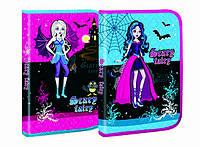 "Папка для труда (на змейке) A4 картон ""Scary Fairy"" 7508"