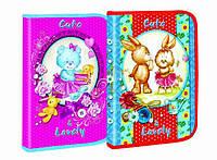 """Папка для труда (на змейке) A4 картон """"Cute&Lovely"""" 7506"""