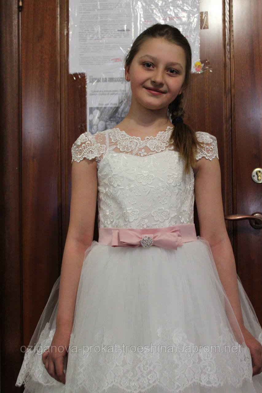 71b211d259f ... Детское нарядное платье Снежинка (1075)- прокат