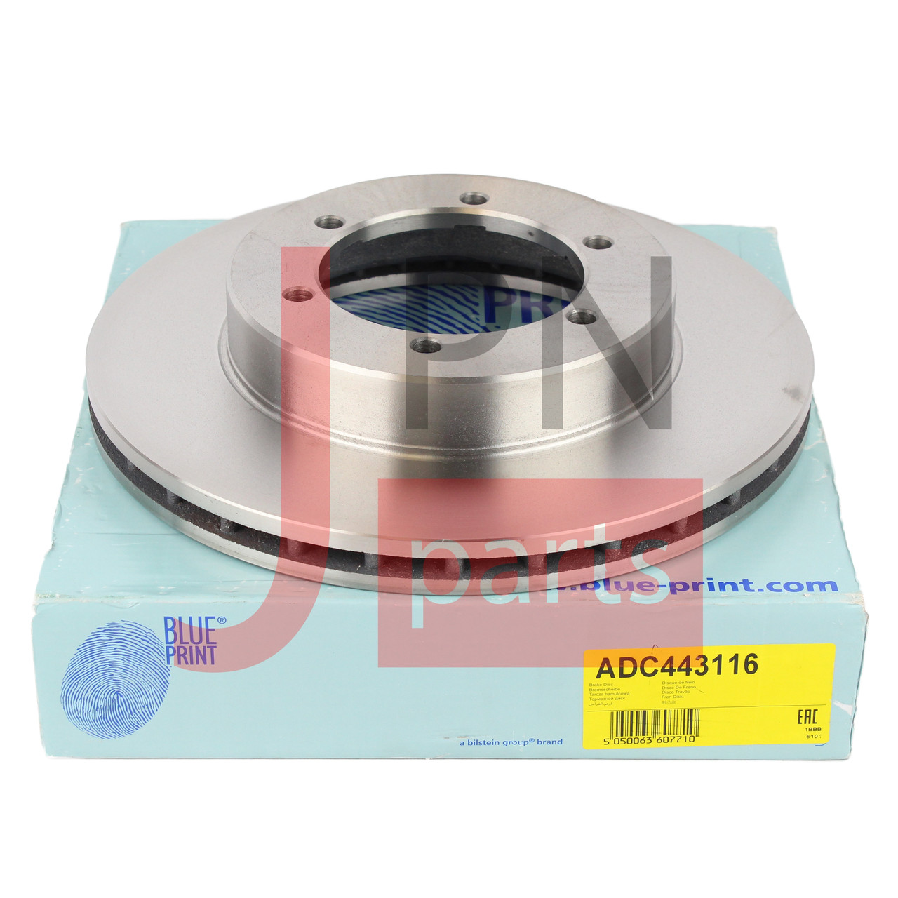 Диск тормозной передний MITSUBISHI CANTER (MK449352) 75 BLUE PRINT