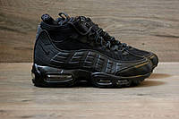 Зимние кроссовки Nike Air Max Sneakerboot 95 black. С термоноском. Качество!