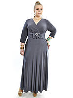 Платье длинное большого размера лето, фото 1