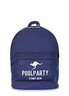 Молодіжний рюкзак Poolparty Kangaroo Dark Blue