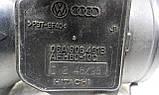 Расходомер воздуха A3 A4 Cordoba Ibiza Octavia Bora Golf Passat Polo T4 1.6 2.5 06A906461B AFH60-10C, фото 5