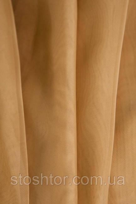 Тюль Шифон коричневый А36