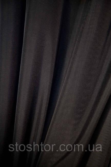 Тюль Шифон черный №А18