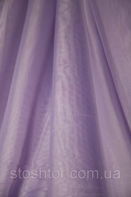 Тюль Шифон фиолетовый №С5