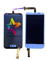 Дисплей для мобильного телефона HTC Sensation XL/G21/X315e, белый, с тачскрином, ORIG
