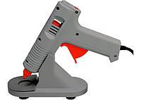 Клеевой пистолет с регулировкой температуры, 100W - 220V, с подставкой MATRIX